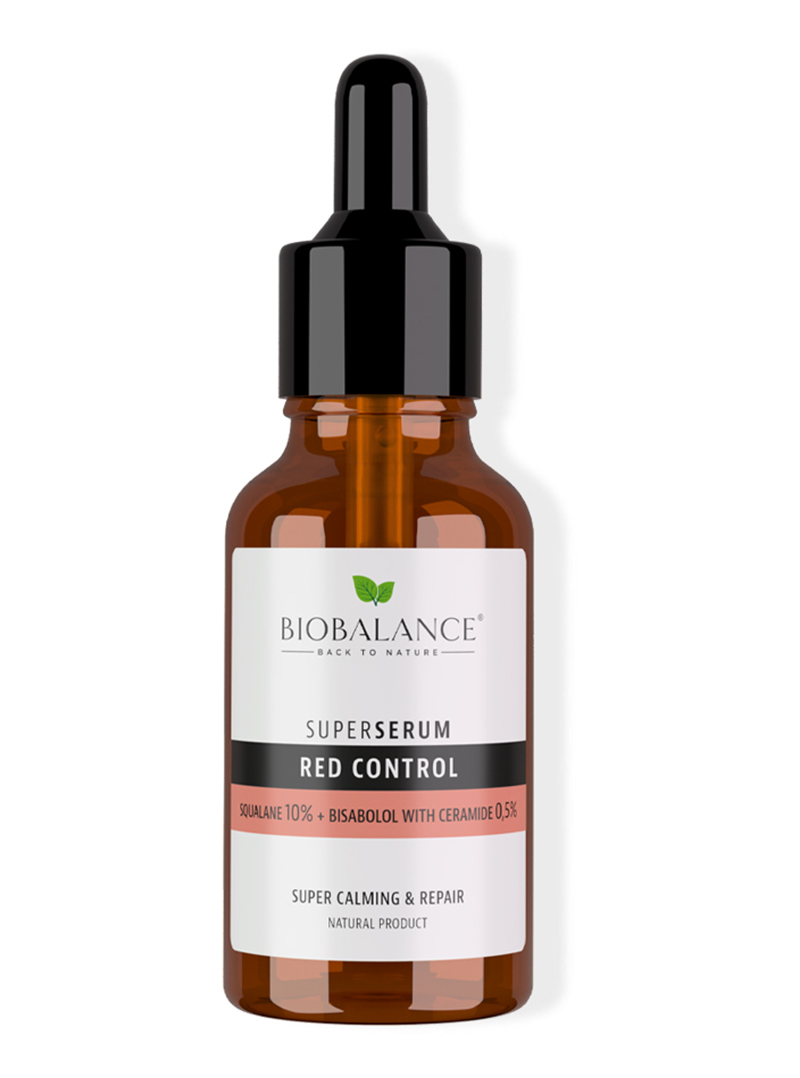 RED CONTROL SQUALANE 10% + BISABOLOL 0,5% SUPER SERUM